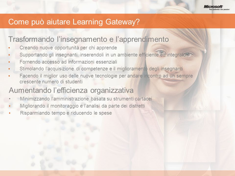 Come può aiutare Learning Gateway