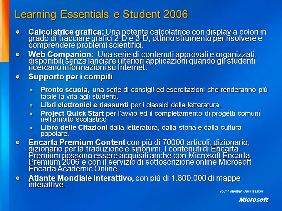 Learning Essentials e Student 2006