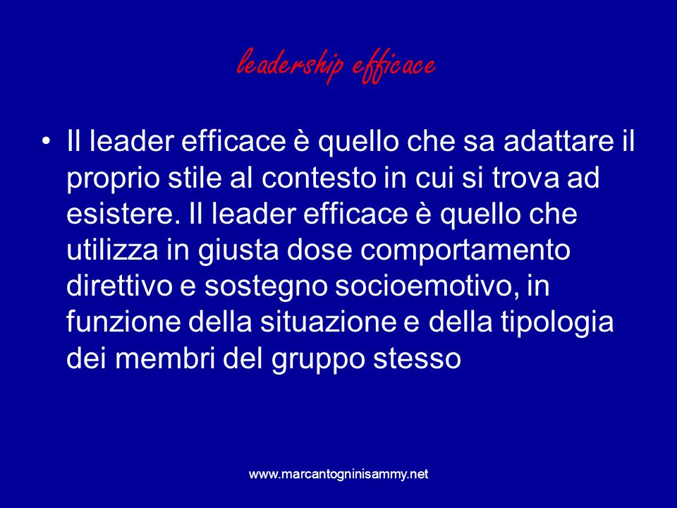 leadership efficace