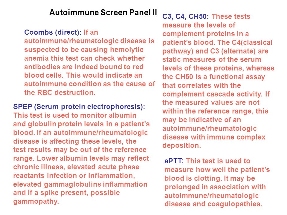 Autoimmune Screen Panel II