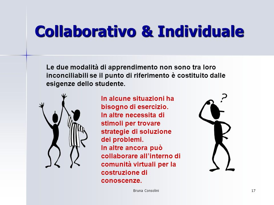Collaborativo & Individuale