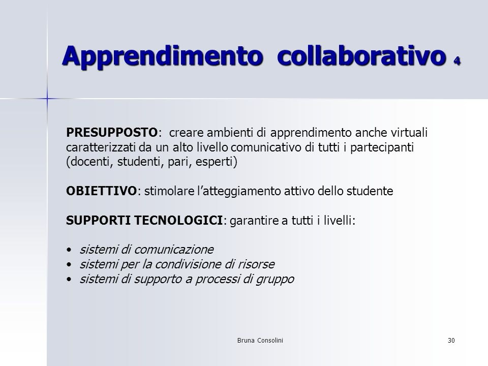 Apprendimento collaborativo 4