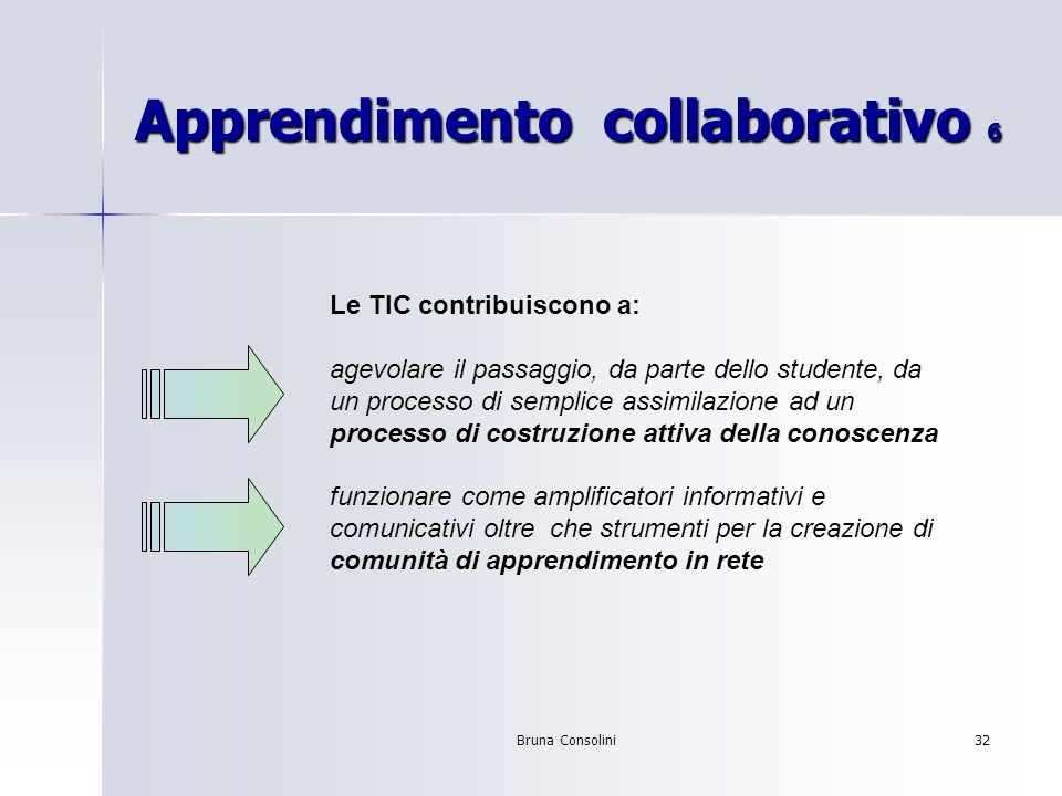 Apprendimento collaborativo 6