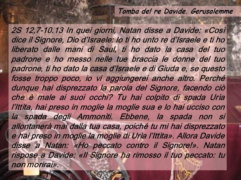 Tomba del re Davide. Gerusalemme