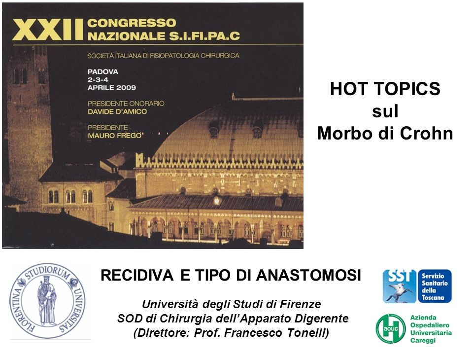 HOT TOPICS sul Morbo di Crohn