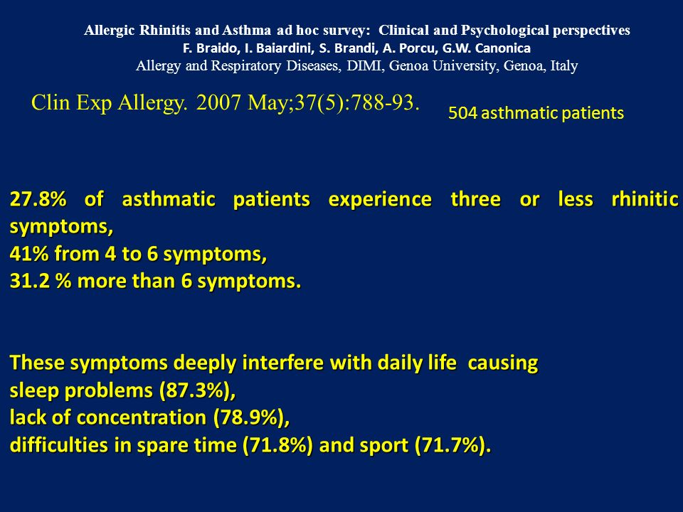 Clin Exp Allergy. 2007 May;37(5):788-93.