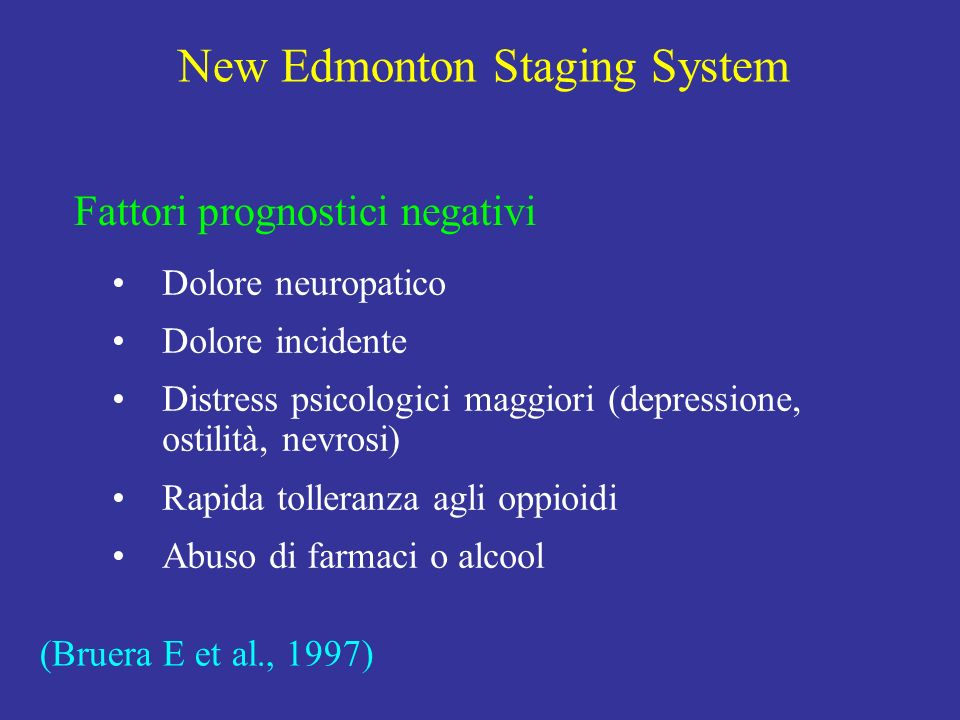 New Edmonton Staging System