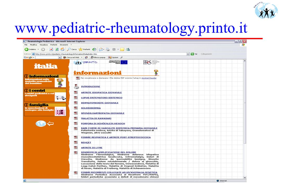 www.pediatric-rheumatology.printo.it