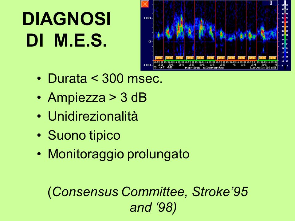 (Consensus Committee, Stroke'95 and '98)