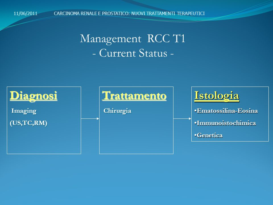 Management RCC T1 - Current Status -