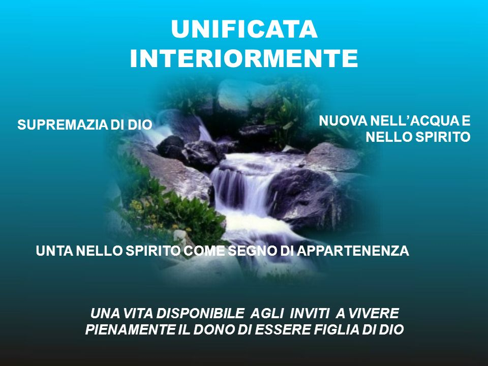 UNIFICATA INTERIORMENTE
