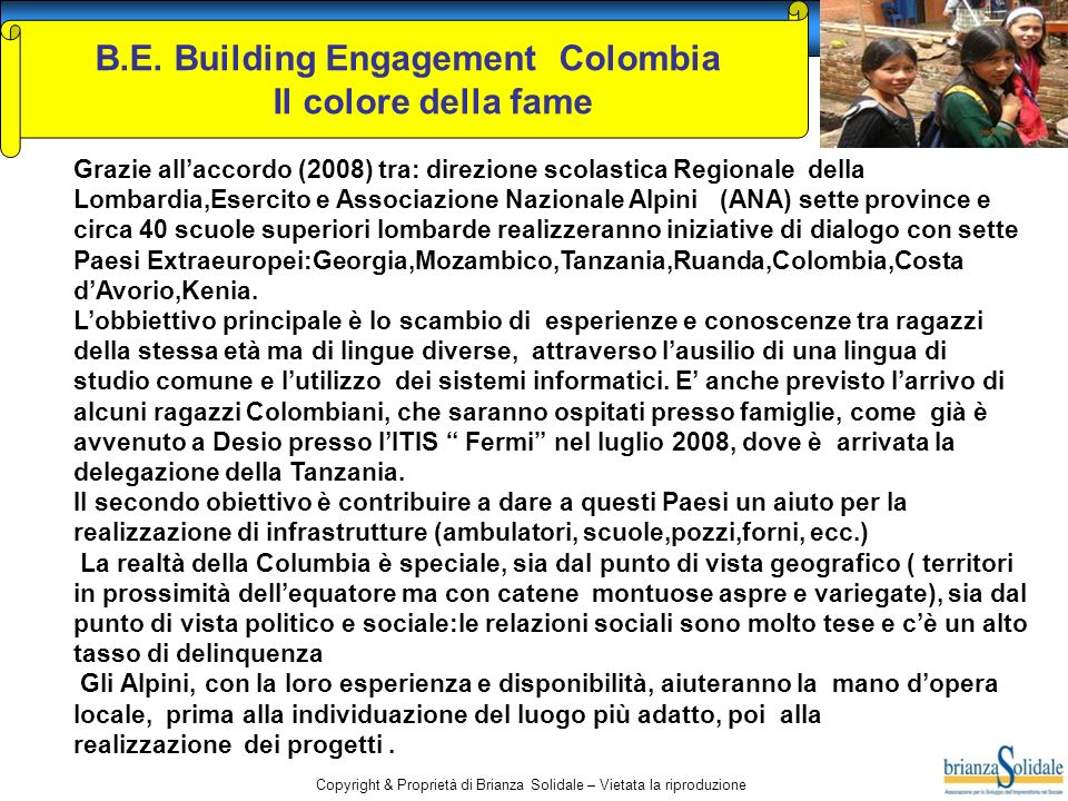 B.E. Building Engagement Colombia