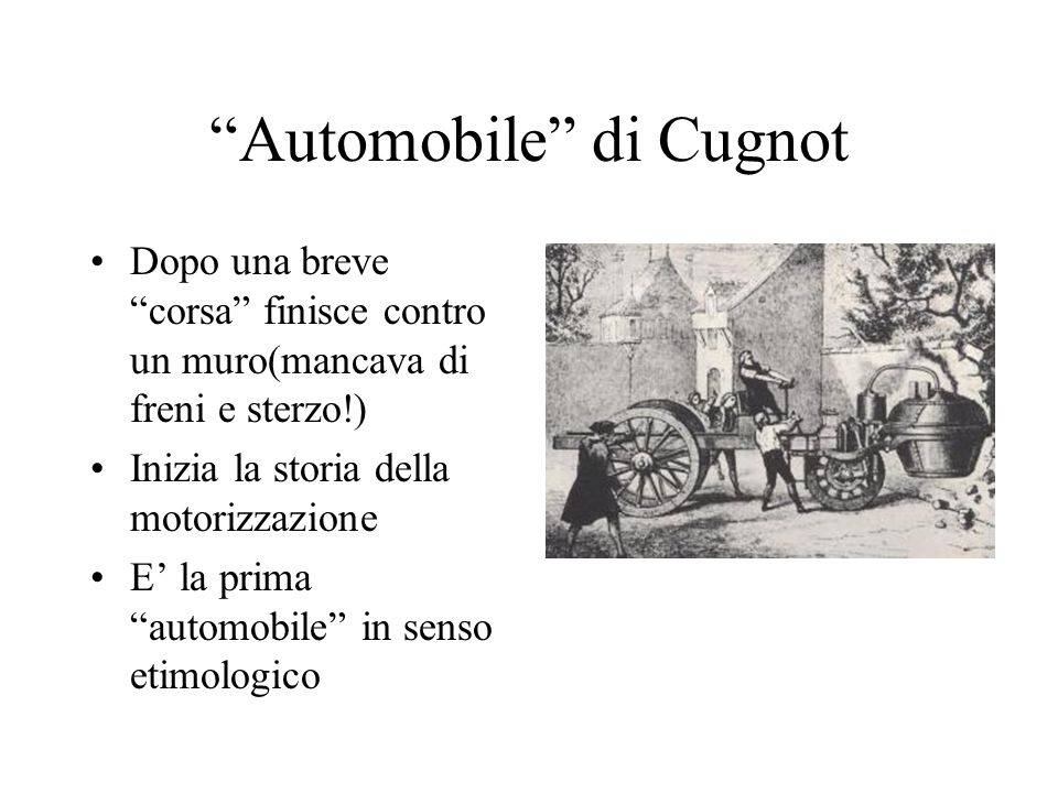 Automobile di Cugnot