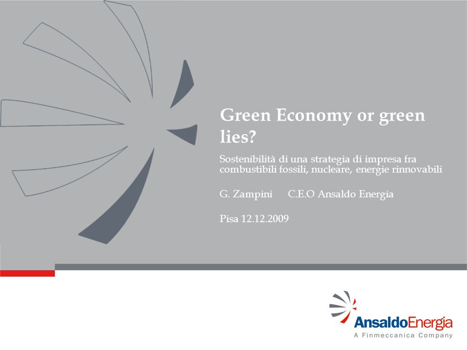 Green Economy or green lies