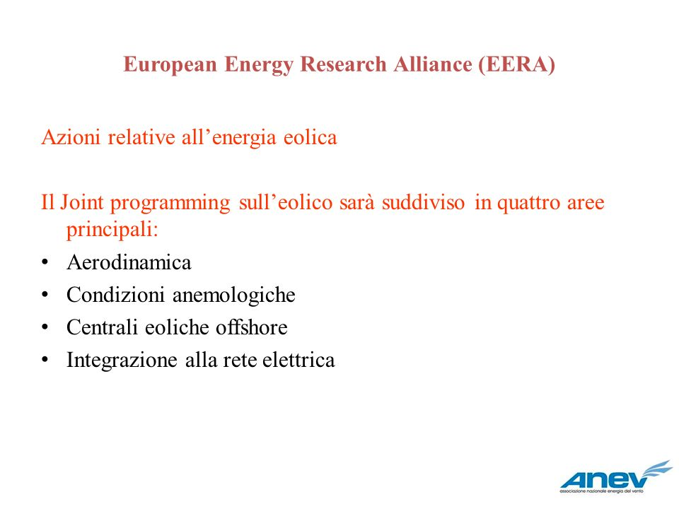 European Energy Research Alliance (EERA)