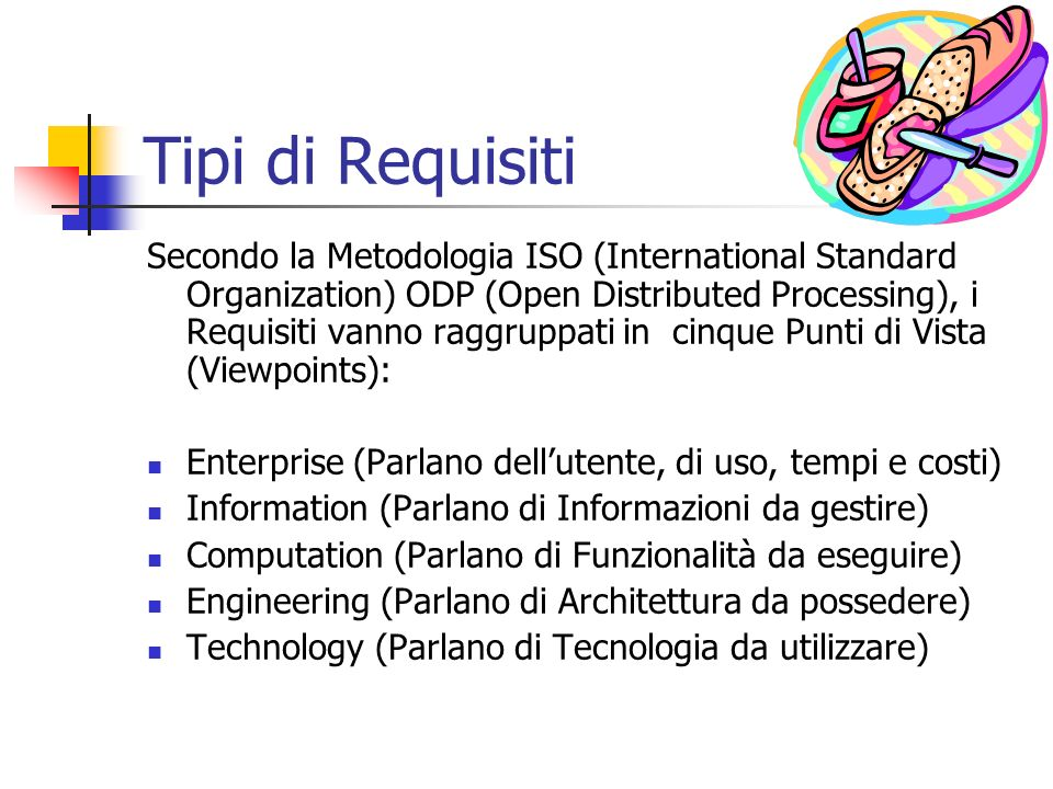 Tipi di Requisiti