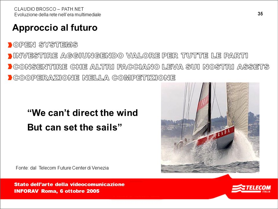 We can't direct the wind But can set the sails