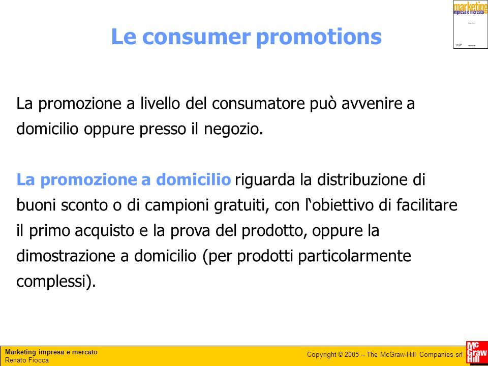 Le consumer promotions