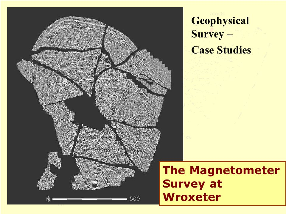 Geophysical Survey – Case Studies The Magnetometer Survey at Wroxeter