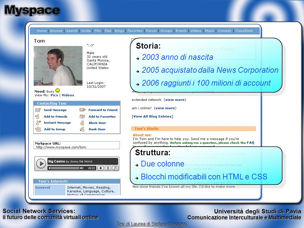 2005 acquistato dalla News Corporation