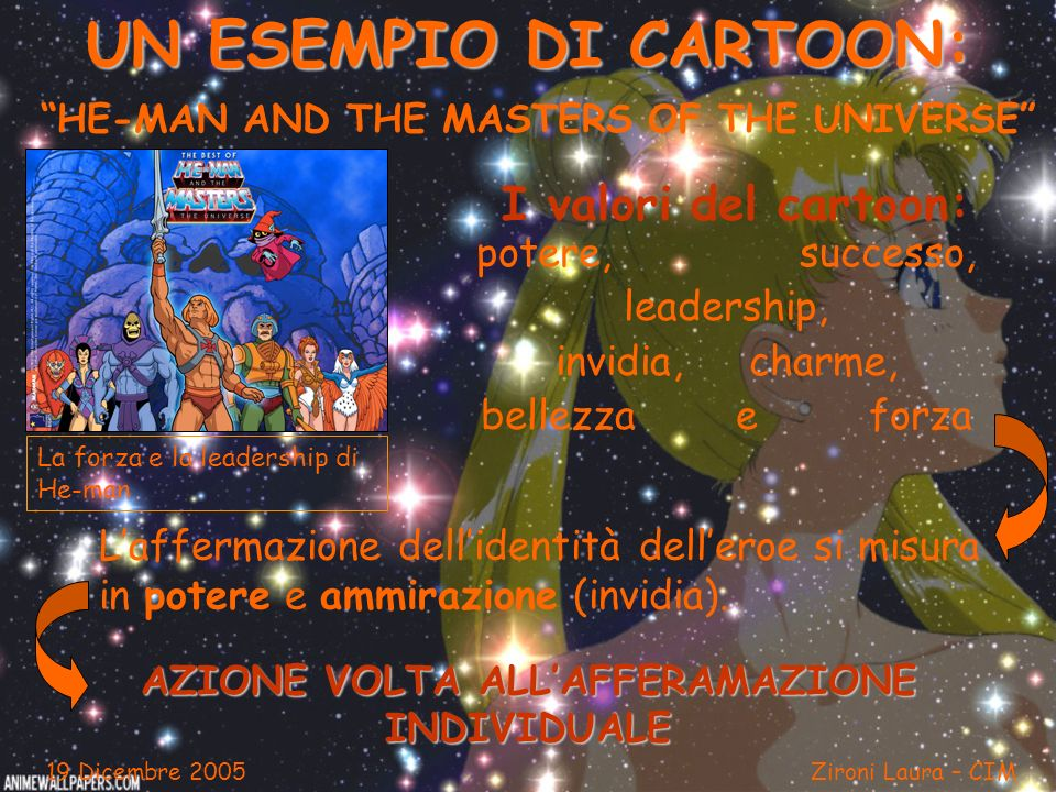 UN ESEMPIO DI CARTOON: HE-MAN AND THE MASTERS OF THE UNIVERSE