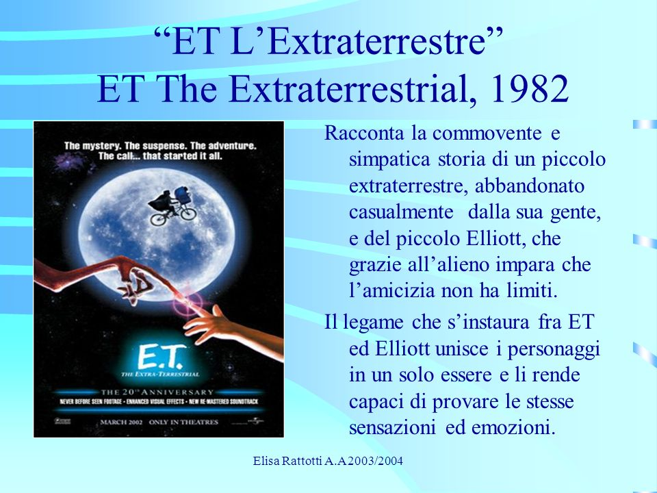 ET L'Extraterrestre ET The Extraterrestrial, 1982