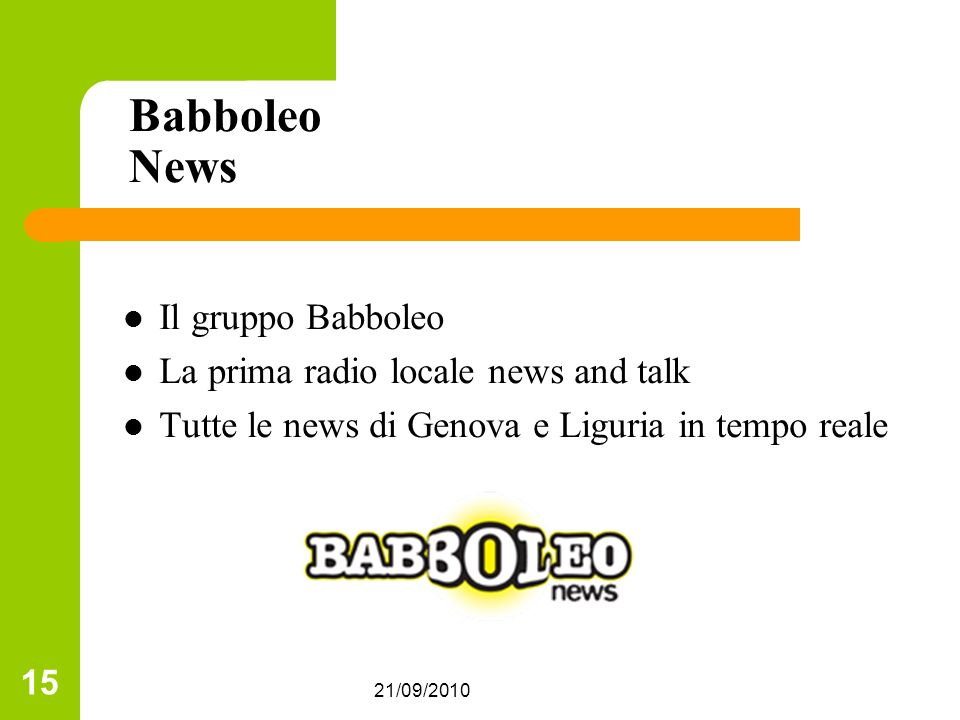 Babboleo News Il gruppo Babboleo La prima radio locale news and talk