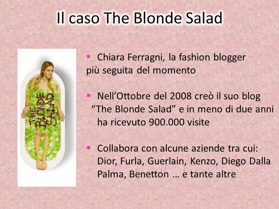 Il caso The Blonde Salad