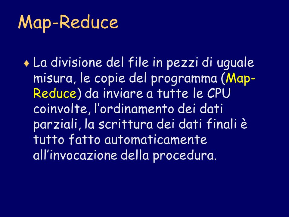Map-Reduce
