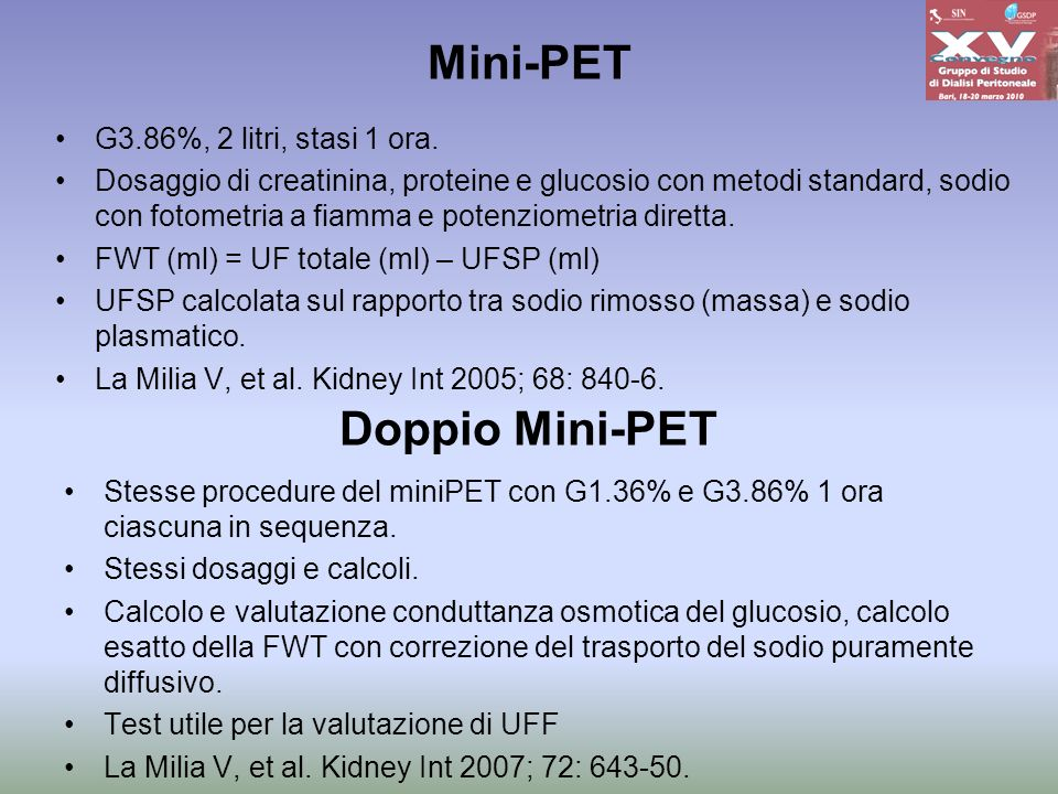 Mini-PET Doppio Mini-PET
