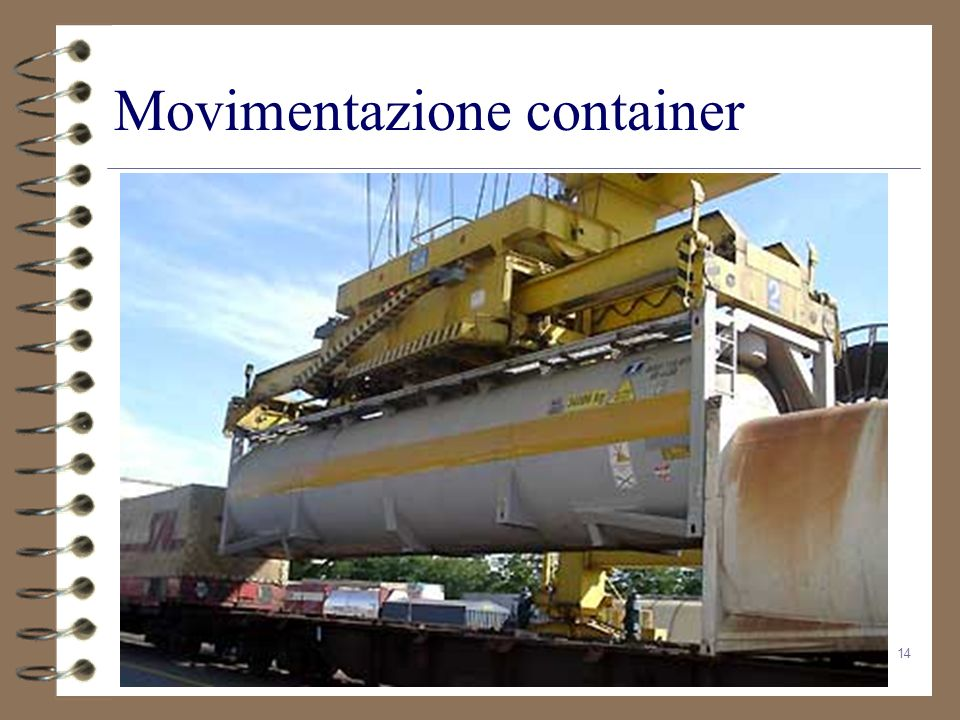 Movimentazione container
