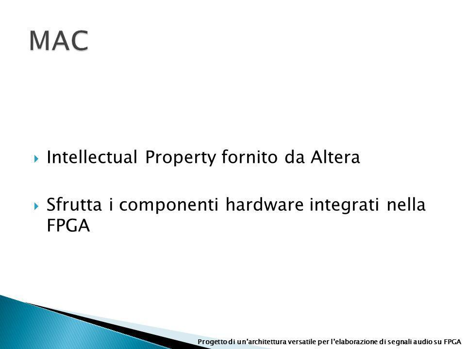 MAC Intellectual Property fornito da Altera
