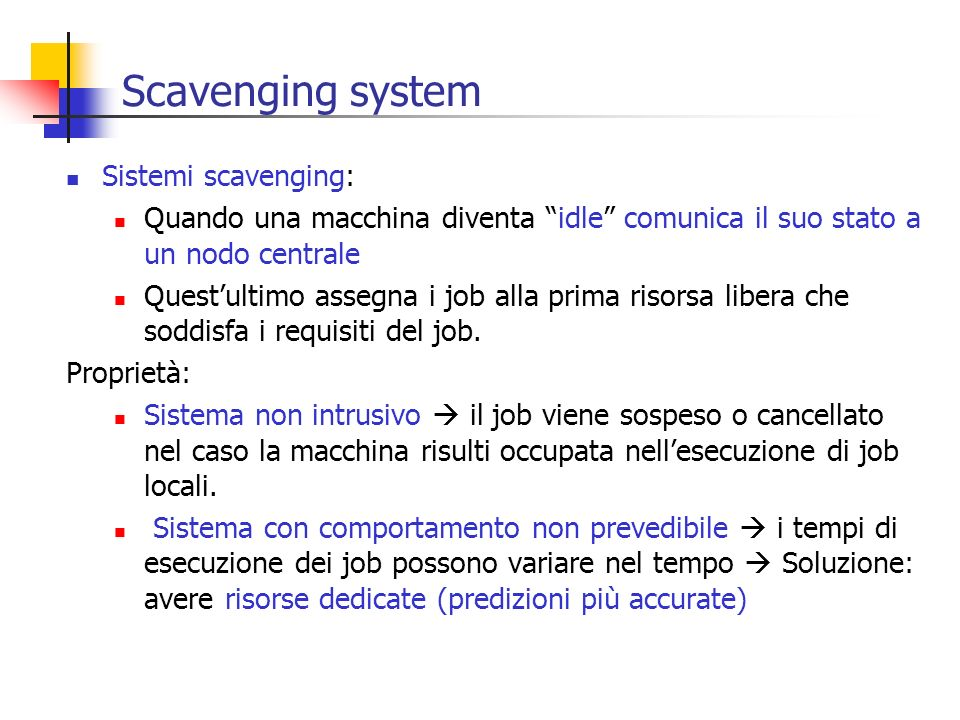 Scavenging system Sistemi scavenging: