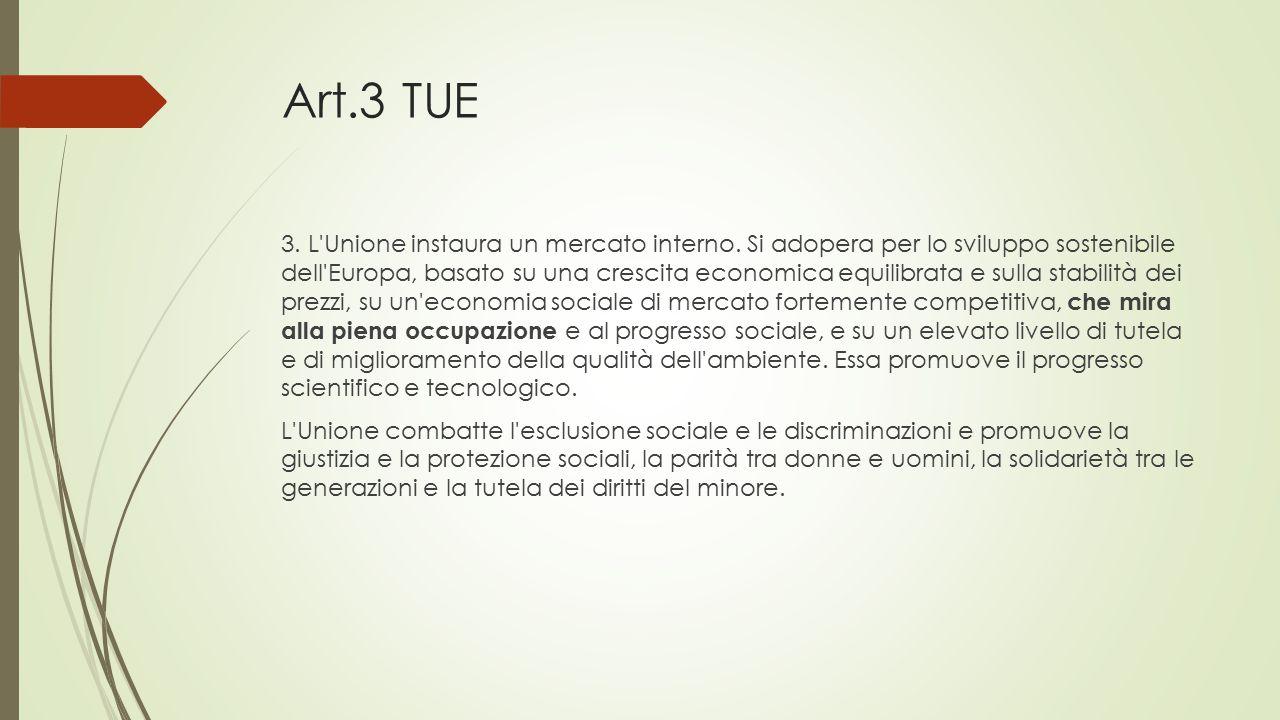 Risultati immagini per articolo 3 TUE