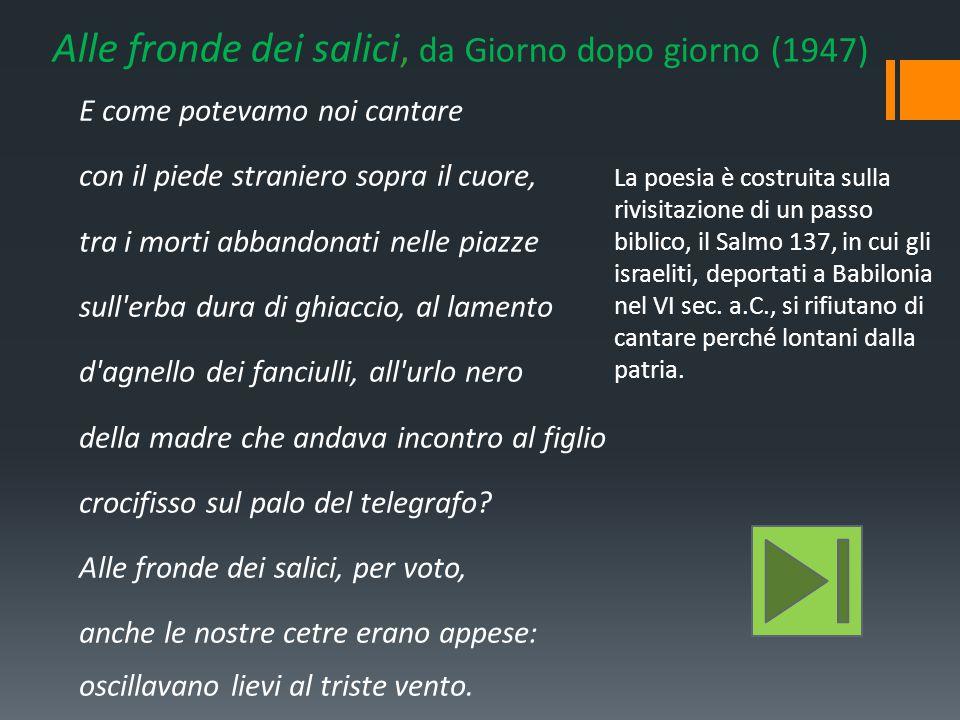 Salvatore Quasimodo Ppt Video Online Scaricare