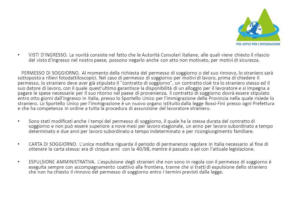 Orientamento e relazione tra l\'utente immigrato ed i servizi - ppt ...