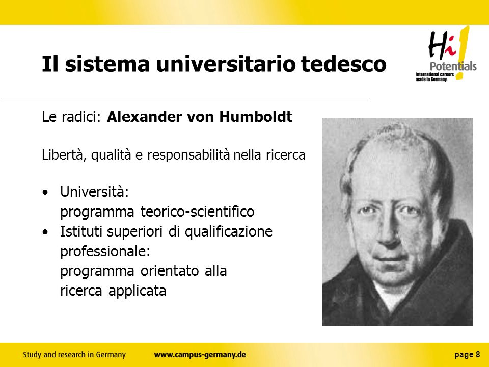 Il sistema universitario tedesco
