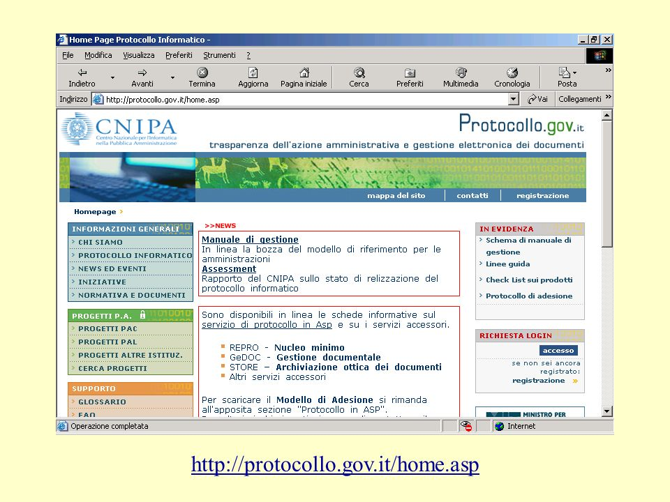 http://protocollo.gov.it/home.asp