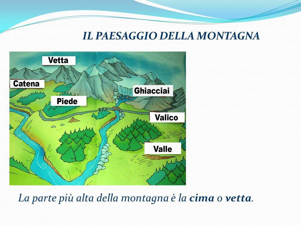 La montagna ppt video online scaricare - Immagini da colorare delle montagne ...