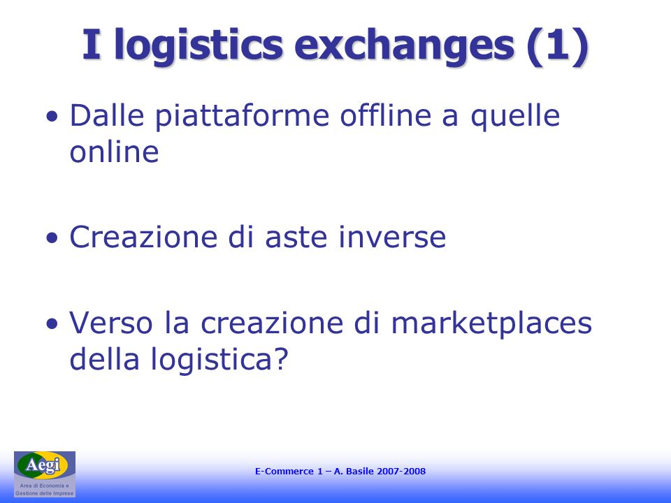 I logistics exchanges (1)
