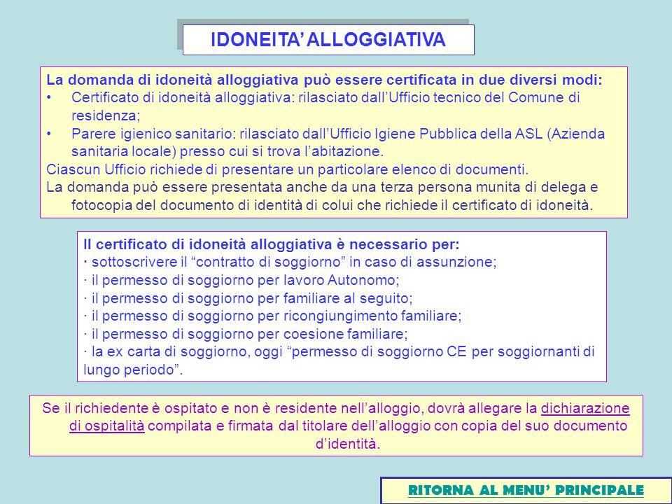 Elenco Documenti Per Rinnovo Permesso Di Soggiorno | La ...