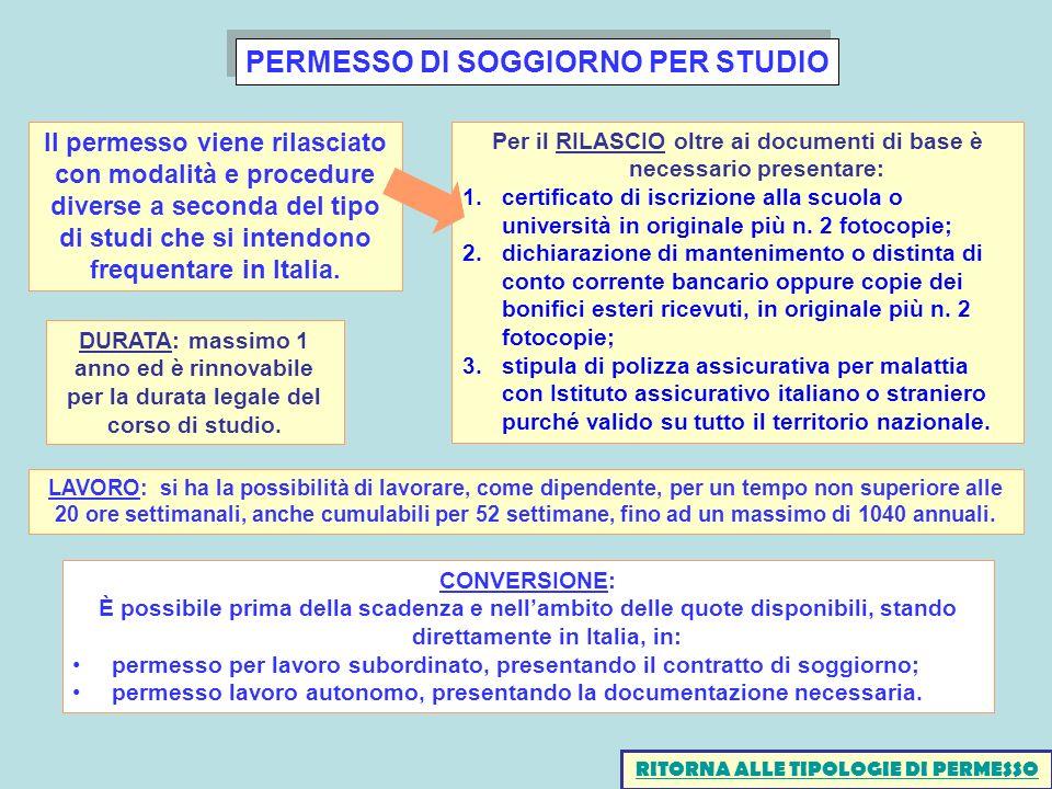 Best Permessi Di Soggiorno Per Lavoro Images Design   sokolvineyard.com