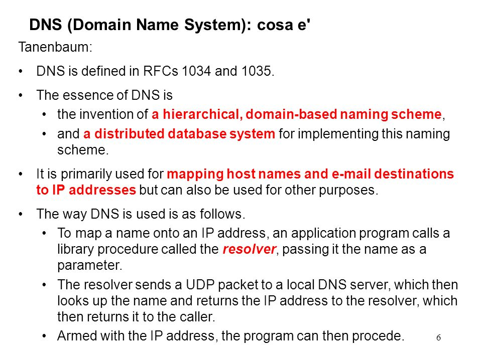 DNS (Domain Name System): cosa e