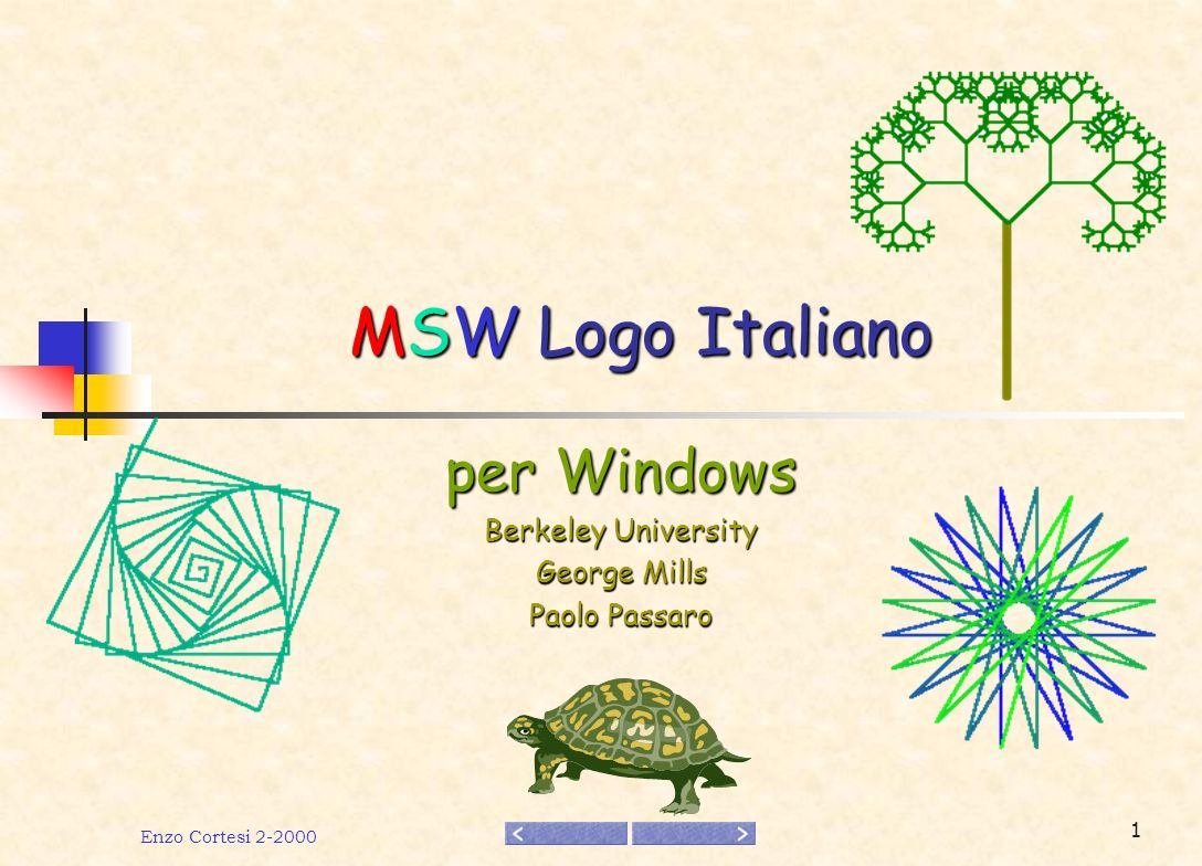 per Windows Berkeley University George Mills Paolo Passaro