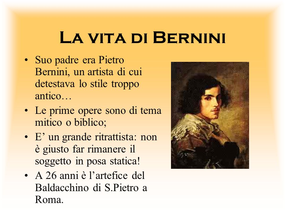 Lo Stile Di Bernini.Elaborato Di Didattica Delle Lingue Moderne Ppt Video Online Scaricare