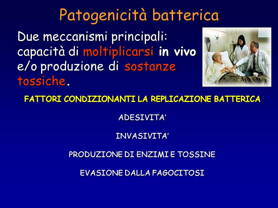 Patogenicità batterica