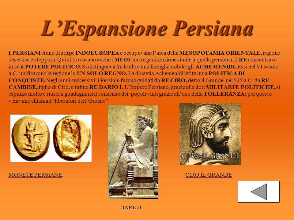 I Persiani Lespansione Persiana Limpero Persiano Ppt Scaricare