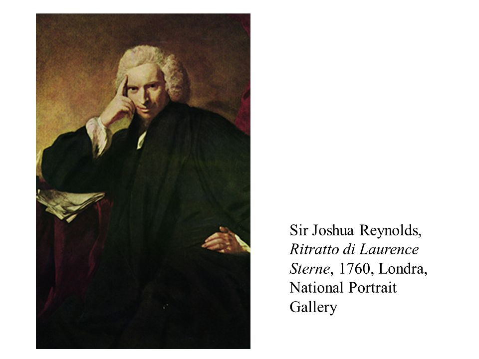 Sir Joshua Reynolds, Ritratto di Laurence Sterne, 1760, Londra, National Portrait Gallery
