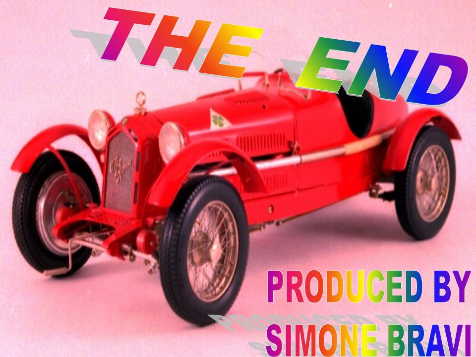 THE END PRODUCED BY SIMONE BRAVI