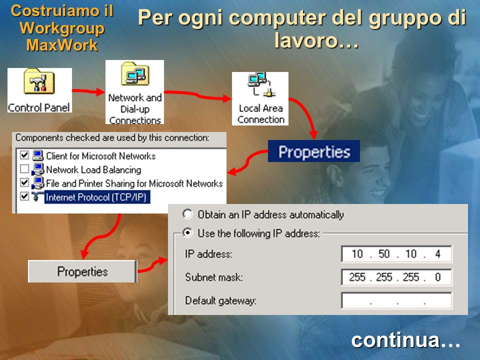 Costruiamo il Workgroup MaxWork